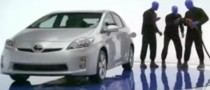 Blue Man Group Introduces the 2010 Toyota Prius
