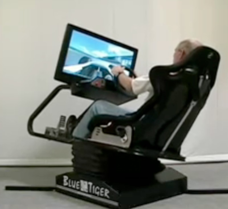 Blue Tiger Motion Simulator For More Realistic Games
