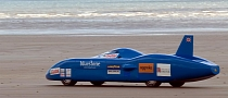 Bluebird Electric Team Hit With Setbacks at Pendine