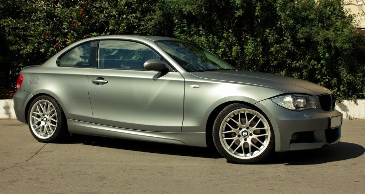BMW 1-Series Coupe in Frozen Gray [Photo Gallery]