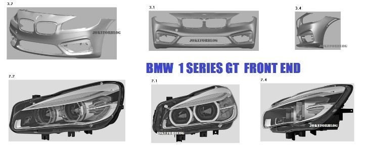 BMW 1 Series GT Details Leaked