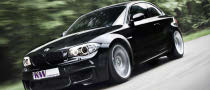 BMW 1-Series M Coupe Gets KW Variant 3 Coilover Suspension