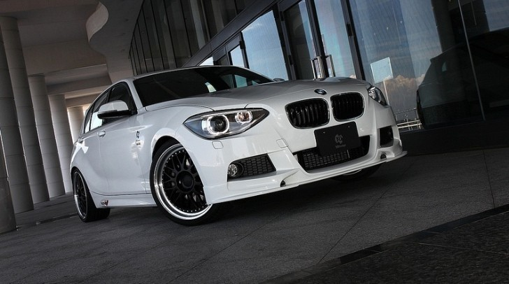 BMW 1-Series Touched by 3D Design [Photo Gallery]