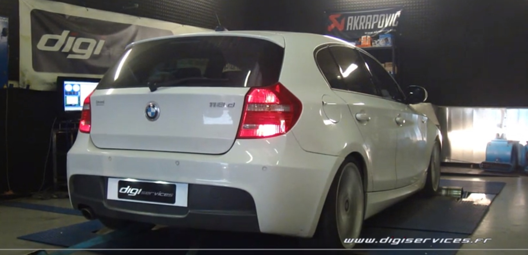 bmw 118d chip tuning 188 hp by digiservices autoevolution. Black Bedroom Furniture Sets. Home Design Ideas