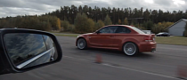 BMW 1M Coupe Goes Against a C63 AMG [Video]