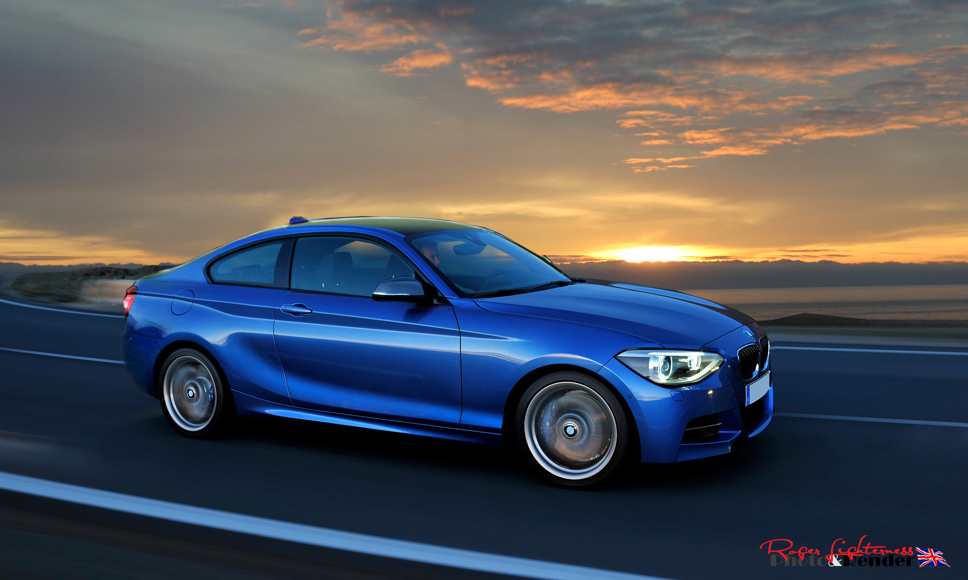 bmw 2 series 235i coupe rendering autoevolution. Black Bedroom Furniture Sets. Home Design Ideas
