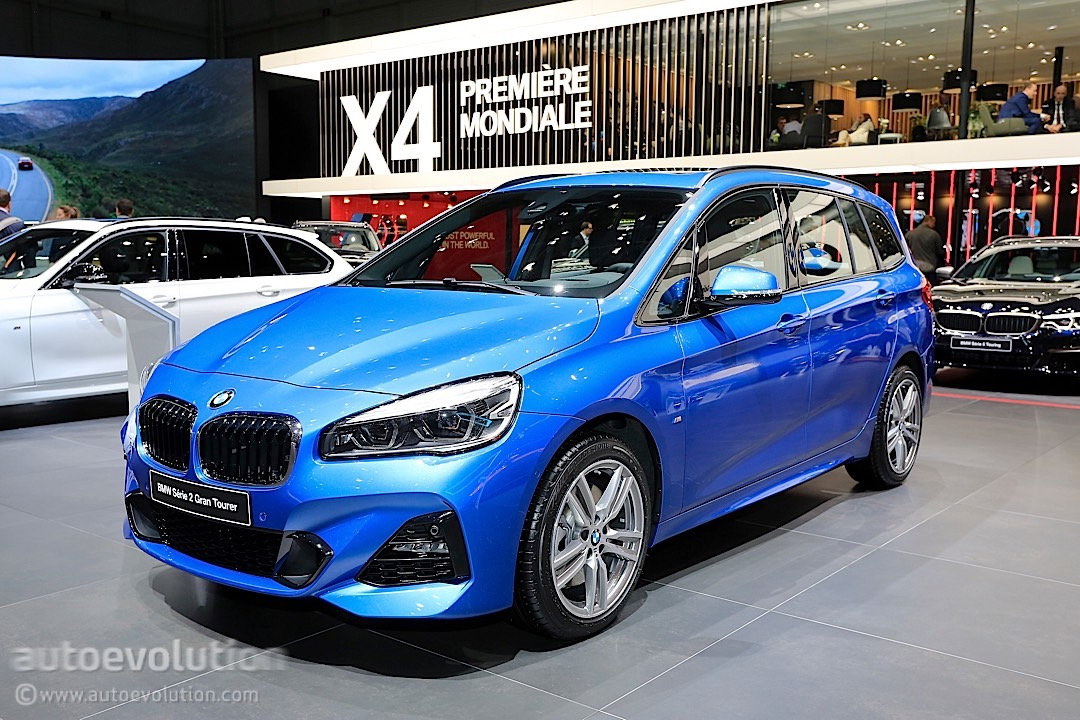 2018 bmw 2 series active and gran tourer lci show mild facelifts in