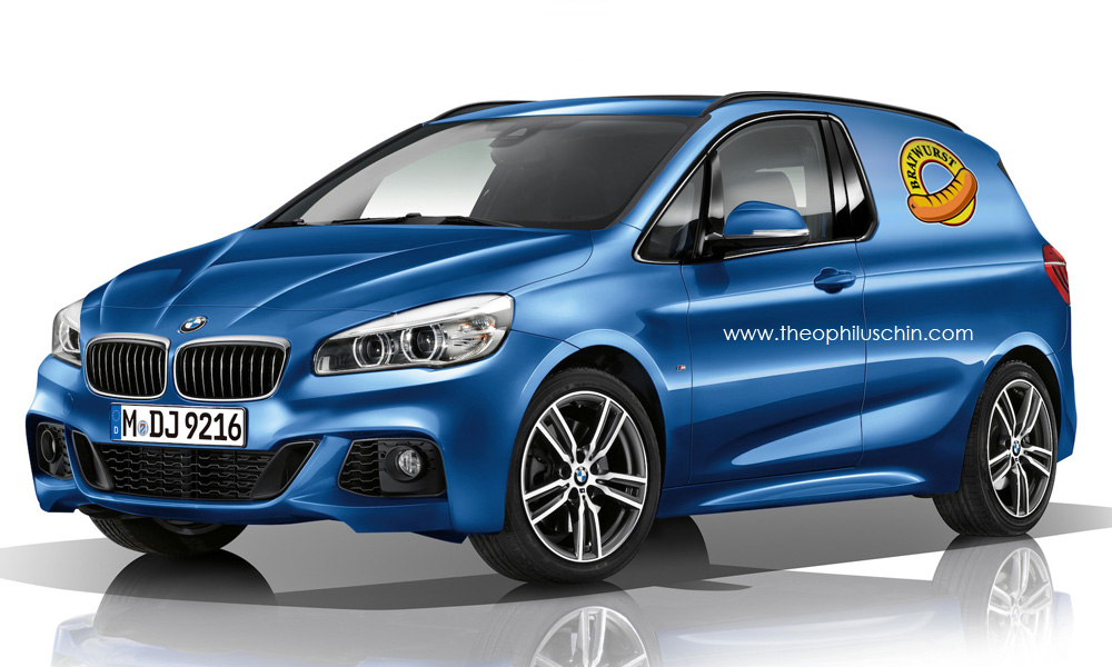 bmw 2 series bratwurst van rendered autoevolution. Black Bedroom Furniture Sets. Home Design Ideas