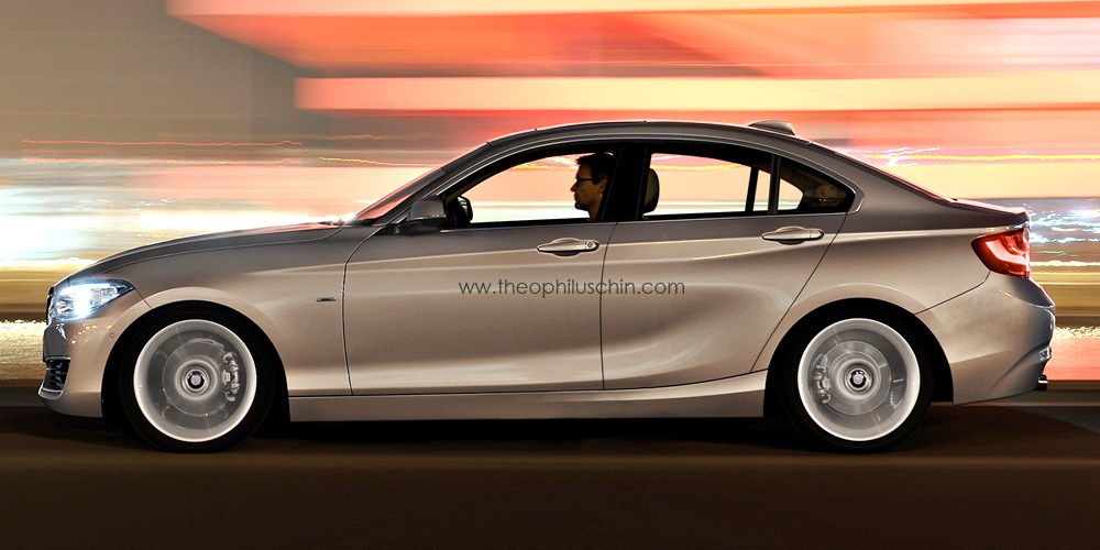 BMW Series Gran Coupe Rendering Autoevolution - 2 door bmw 5 series