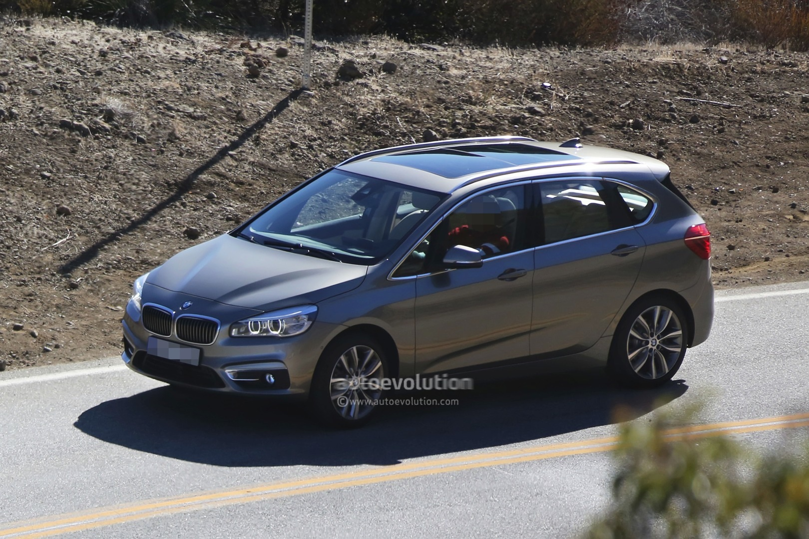 bmw 2 series gt completely revealed through spyshots autoevolution. Black Bedroom Furniture Sets. Home Design Ideas