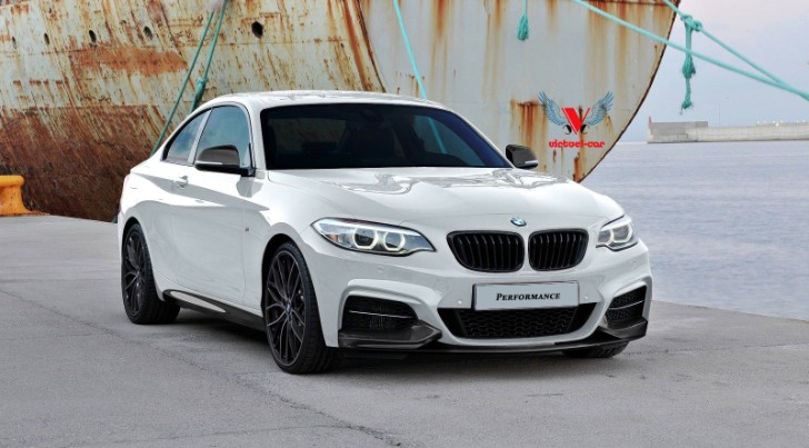 BMW 2 Series with M Performance Parts Rendering