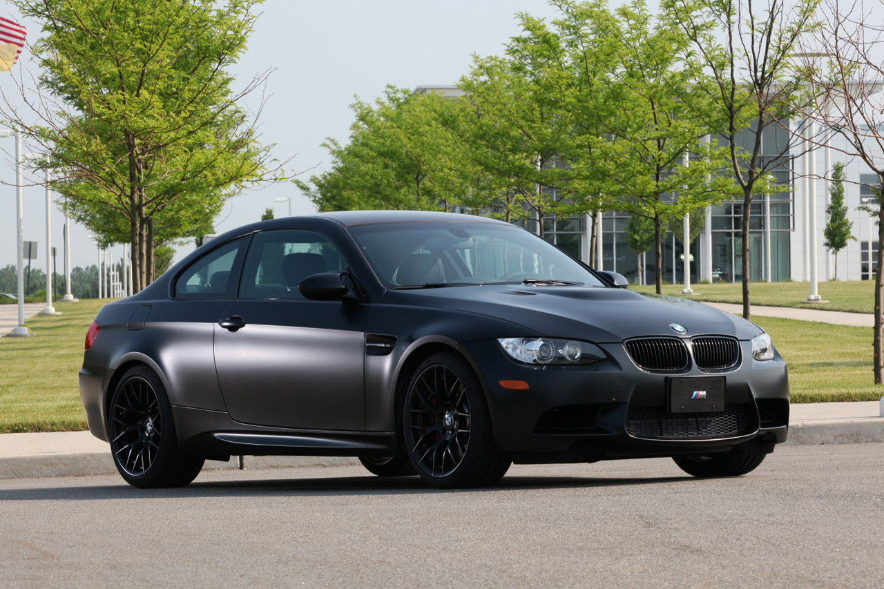 BMW Frozen Black Edition M Coupe Unveiled Only To Be - All black bmw
