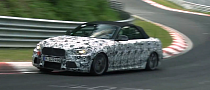 BMW 235i or M235i Convertible Testing on the Nurburgring [Video]