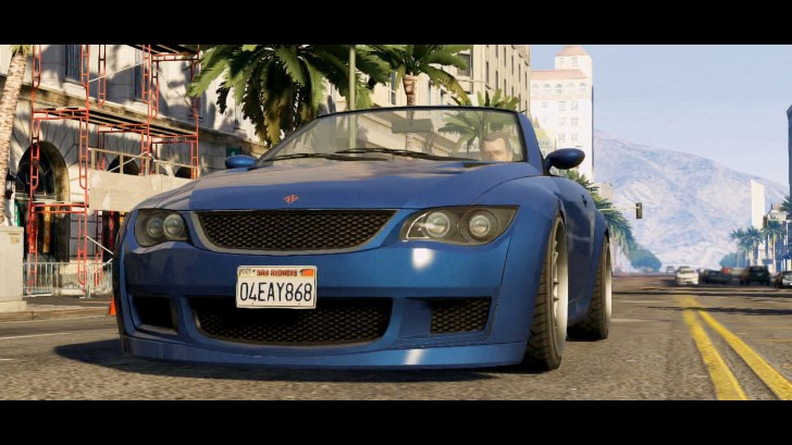 Bmw 3 Series Convertible Shows Up In Gta V As Sentinel Xs
