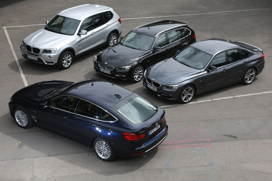 Bmw 3 Series Gt Vs Touring Vs Sedan Vs X3 Comparison By