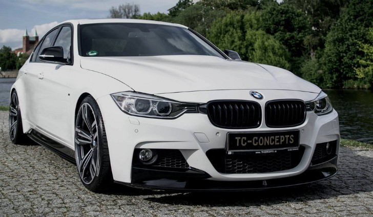BMW 3 Series With The TC Concept Wide Body Kit Looks Like An M3