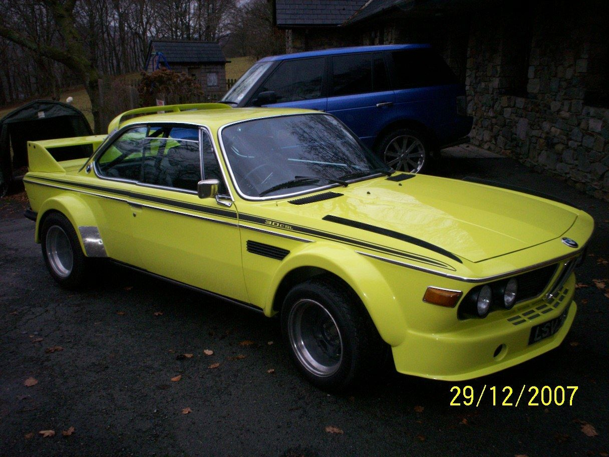 BMW 3.0CSL with Batmobile Widebody Kit Up for Sale on eBay ...