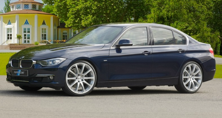BMW 316d Goes from 116 HP to 152 HP at Hartge [Video]