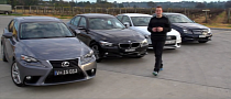 BMW 316i vs Lexus IS250 vs Mercedes-Benz C200 vs Audi A4 Comparison Test [Video]