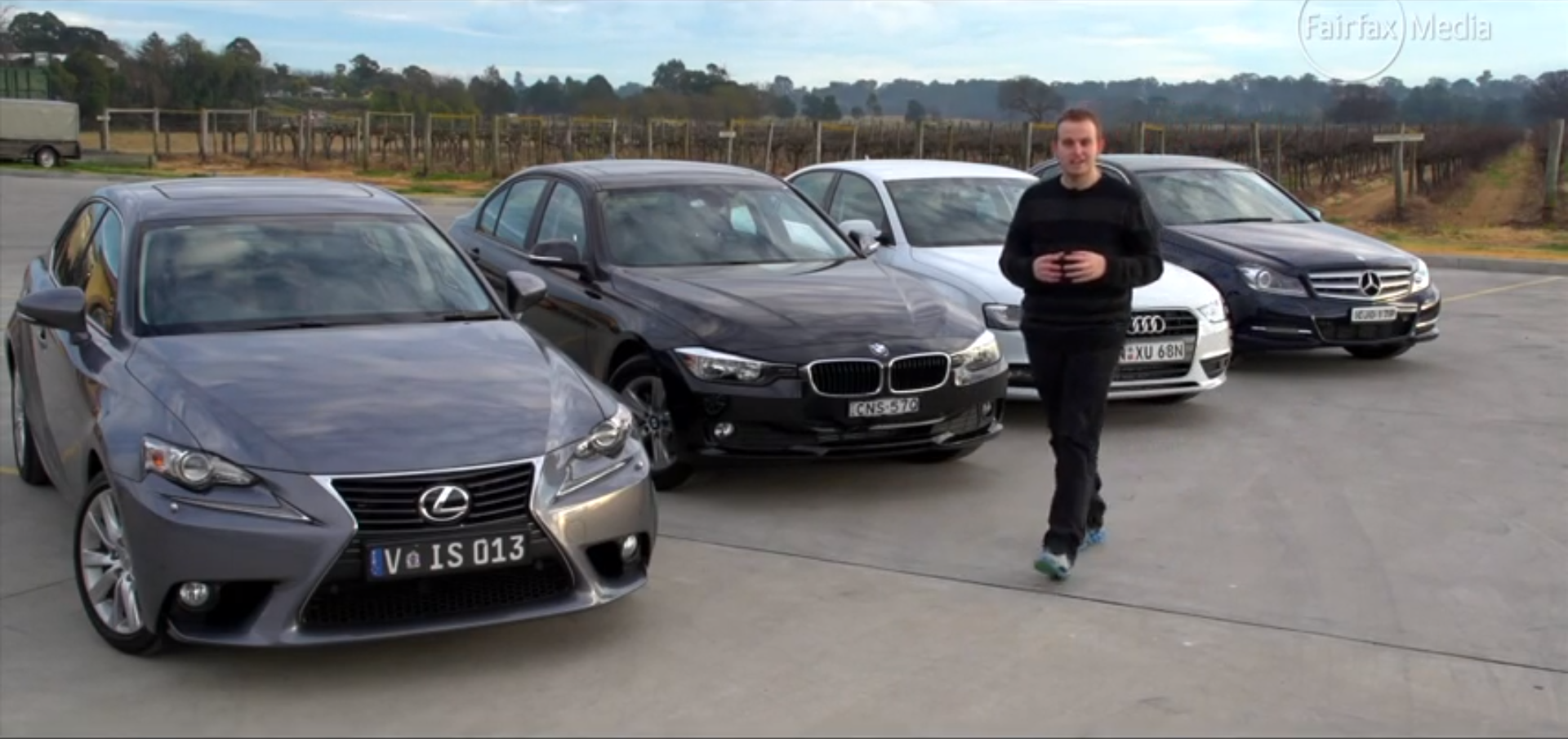 Bmw 316i Vs Lexus Is250 Vs Mercedes Benz C200 Vs Audi A4 Comparison