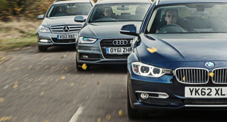 BMW 320d Touring vs A4 Avant vs Mercedes-Benz C220 Estate Comparative Test