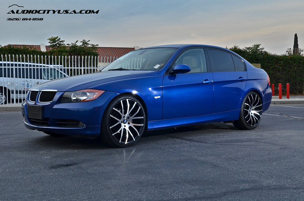 Bmw 328i Gets 20 Inch Rims From Giovanna Stands Tall Autoevolution