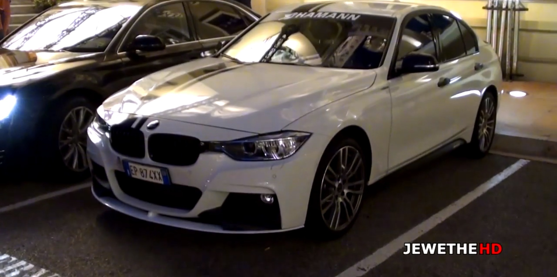 bmw 328i driver fails miserably at drifting in monaco. Black Bedroom Furniture Sets. Home Design Ideas