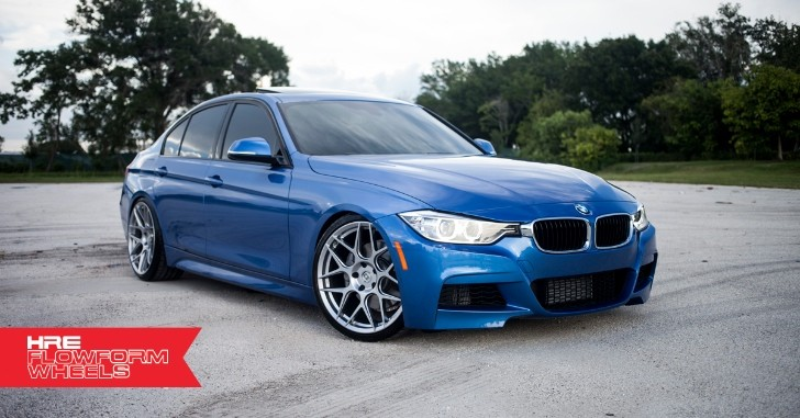 BMW 335i M Sport on HRE Wheels [Photo Gallery]