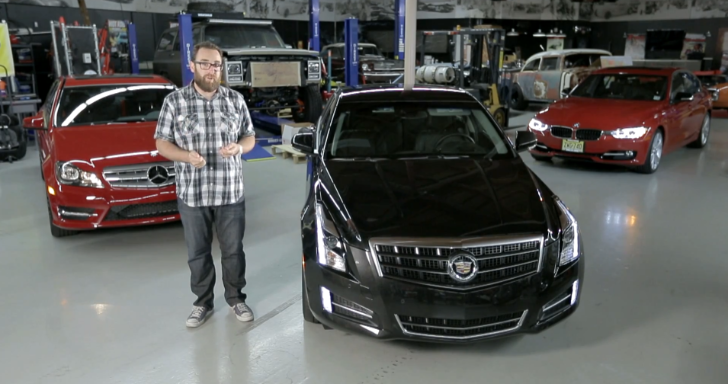 BMW 335i Pitted Against Cadillac ATS 3.6 and Mercedes-Benz C350 by MotorTrend [Video]