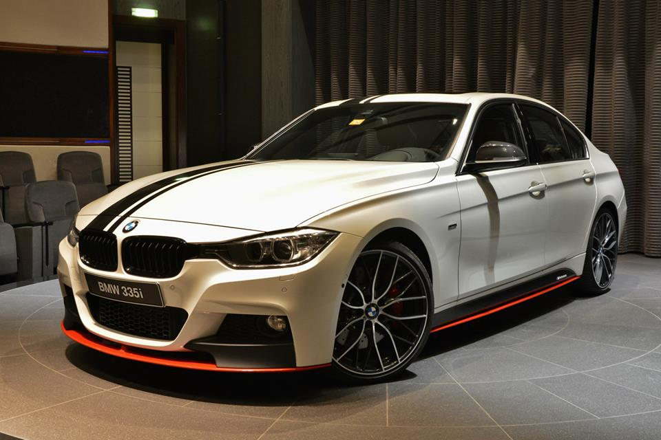 Bmw 335i Shows Complete M Performance Arsenal In Abu Dhabi