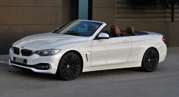 Bmw 4 Series Convertible Gets New Rims From Kelleners Sport Autoevolution