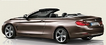BMW 4 Series Convertible Rendering