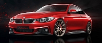 BMW 4 Series Coupe M Sport Receives Virtual Tuning