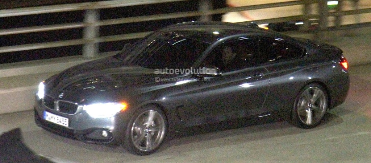 BMW 4 Series Coupe Spied Totally Undisguised [Photo Gallery]