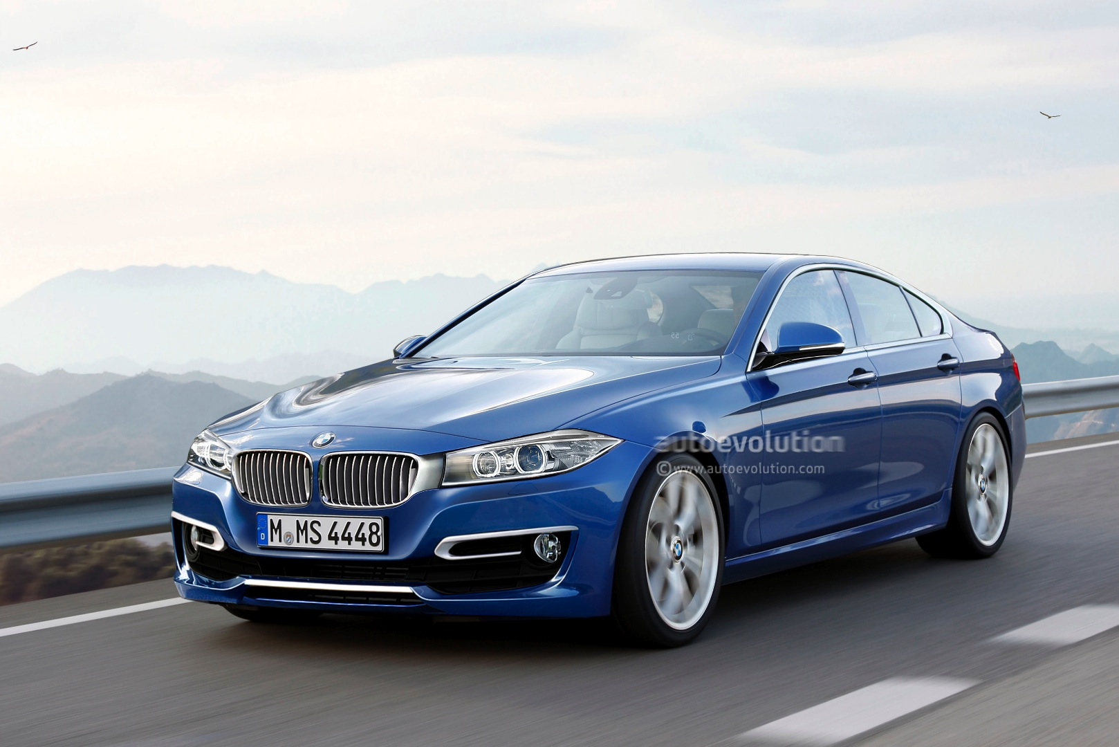 bmw 4 series gran coupe coming in 2013 autoevolution. Black Bedroom Furniture Sets. Home Design Ideas