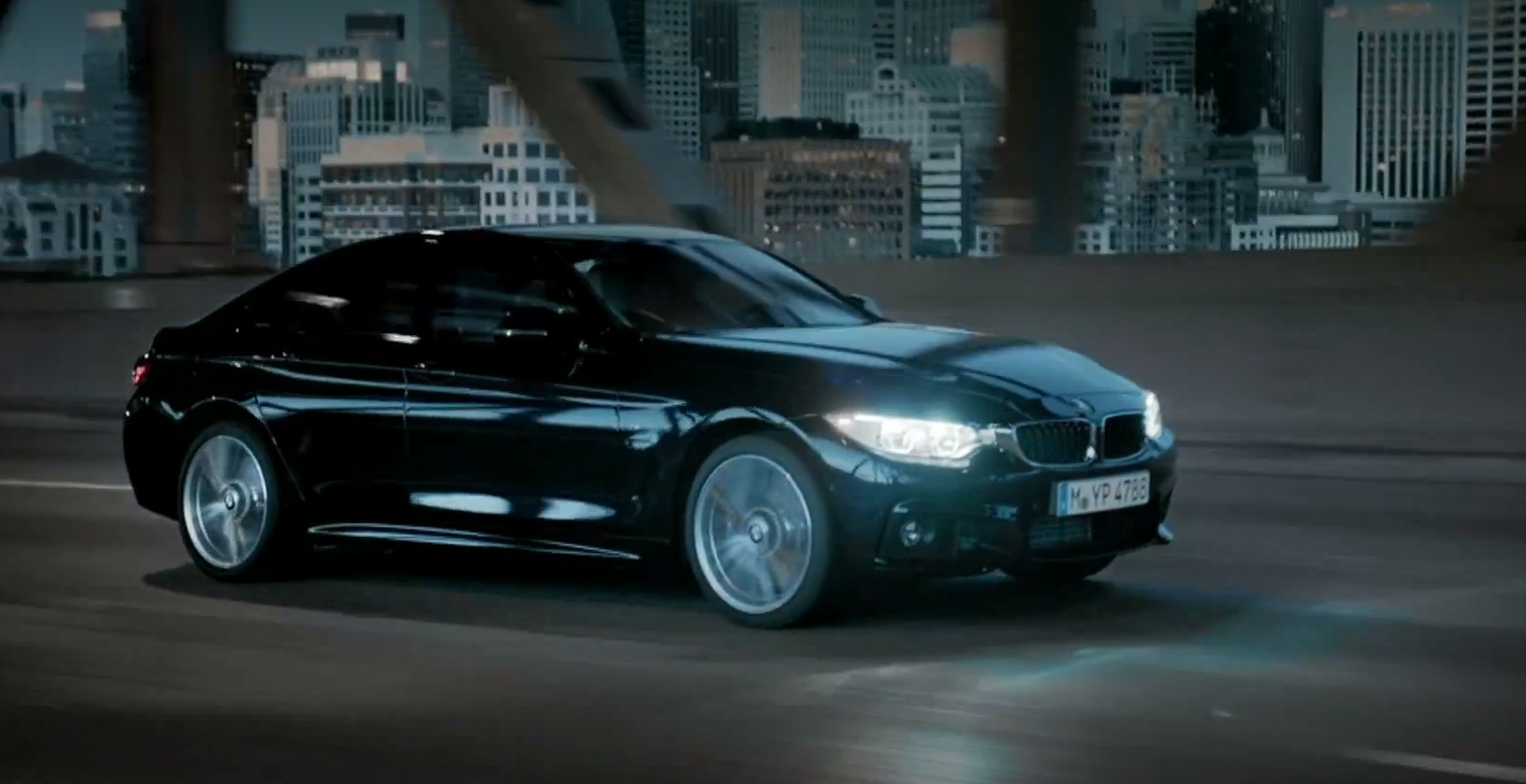 bmw 4 series gran coupe featured in elegant launchfilm - autoevolution