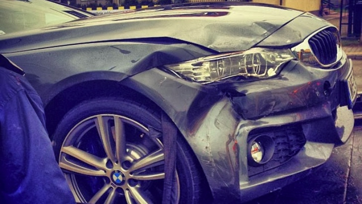 BMW 4 Series Has Its First Crash