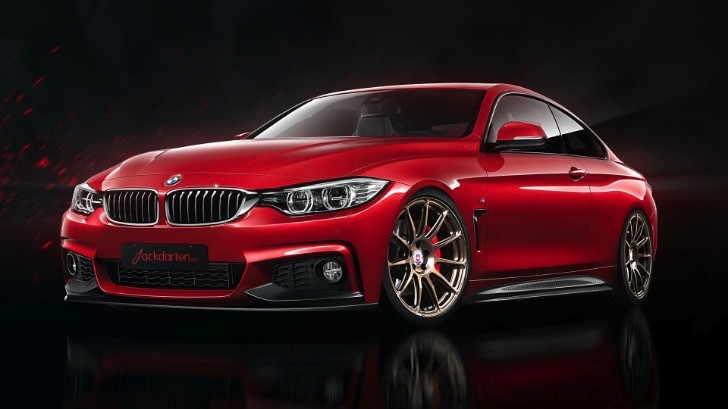 BMW 4 Series M Sport Gets Virtual Tuning