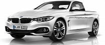 BMW 4 Series Rendered as Pickup
