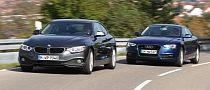 BMW 420d vs Audi A5 TDI Comparative Test [Photo Gallery]