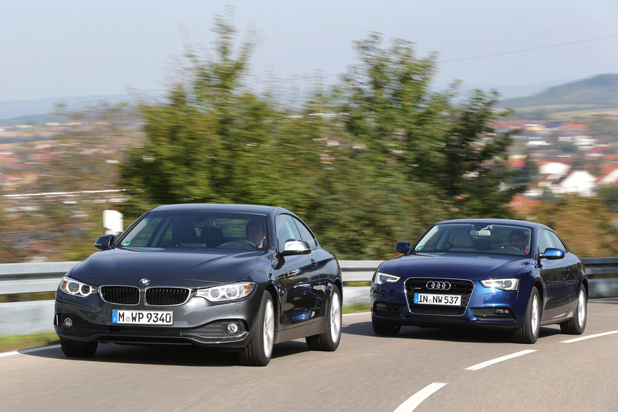 Audi A5 Sound System Review >> New Bmw 4 Series Versus Audi A5 | Autos Weblog