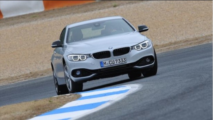BMW 435i Gets a Positive Review from Top Gear