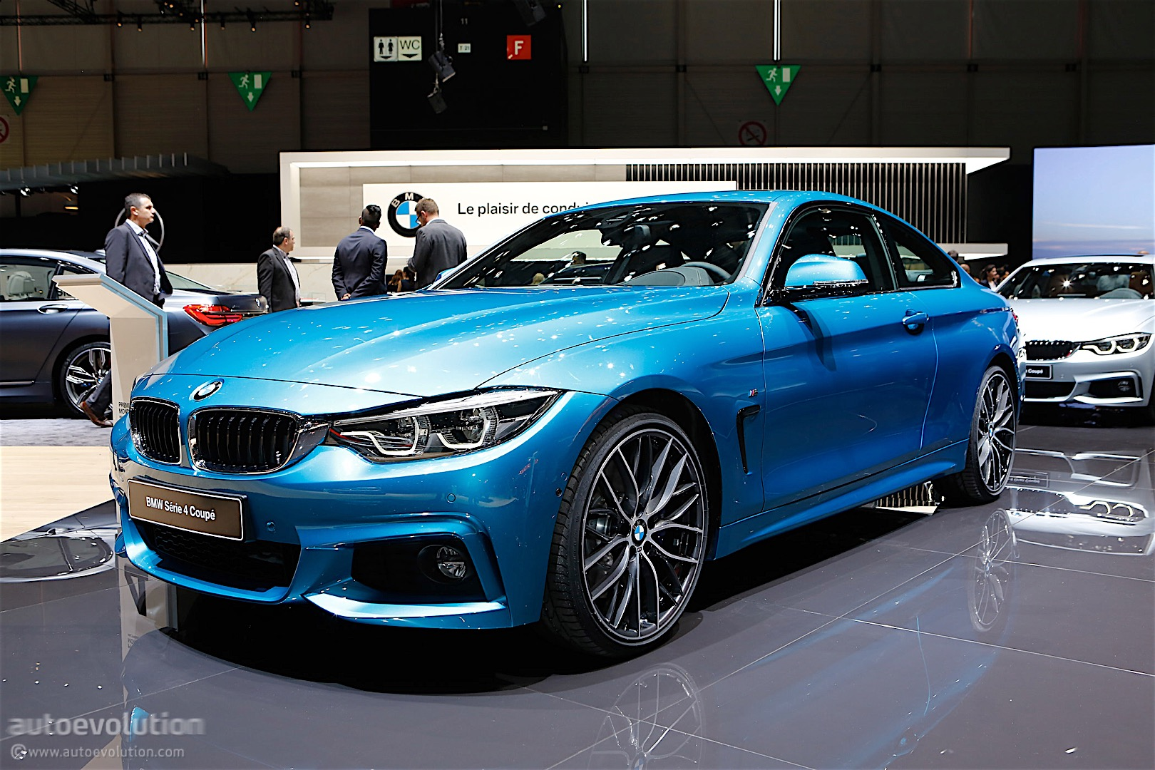 2017 bmw 4 series facelift comes to geneva full lineup present in the spotlight autoevolution. Black Bedroom Furniture Sets. Home Design Ideas