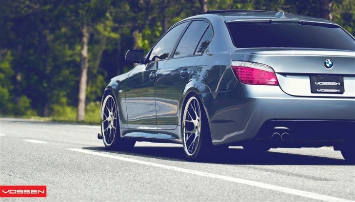 BMW 5-Series 545i on Vossen Concave Wheels [Photo Gallery]
