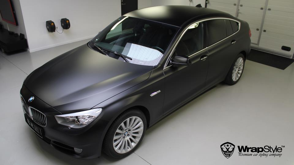 Bmw 4 Series Black Bmw 5 Series gt is Matte Black