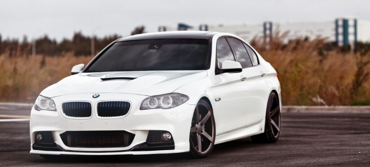 BMW 5-Series by Vossen [Photo Gallery]