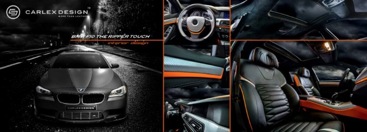 BMW 5 Series 39 The Ripper 39 Custom Interior From Carlex Design