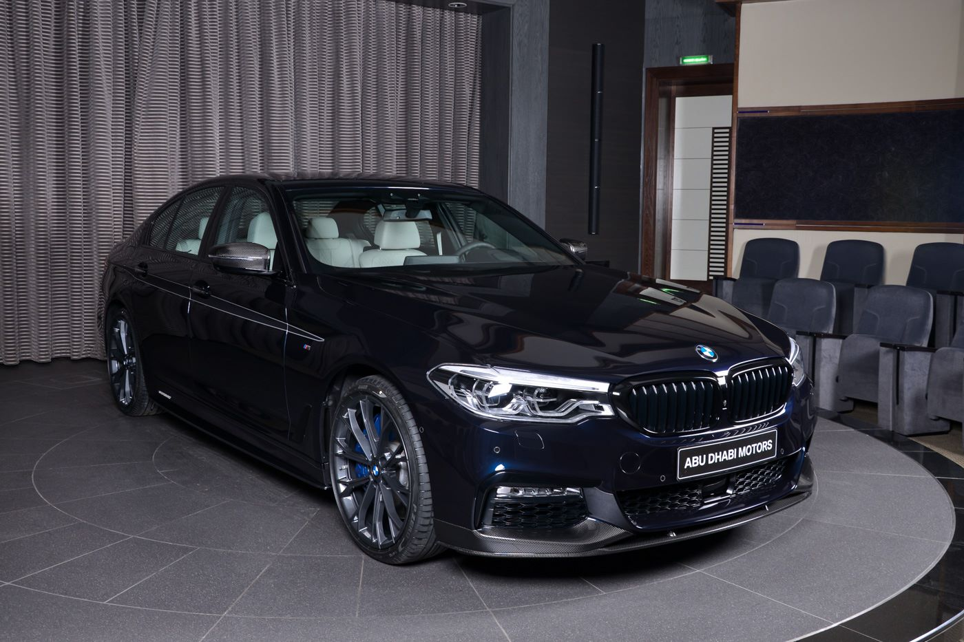 bmw 540i with m performance carbon kit sports carbon black. Black Bedroom Furniture Sets. Home Design Ideas