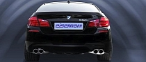 BMW 550i Gets Eisenmann Exhaust
