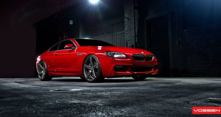 BMW 6-Series Coupe on Vossen Concave Wheels [Photo Gallery]